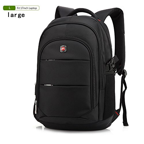 f52b0e3a02 15.6 Inch Laptop Bag Backpack Men Large Capacity Oxford Schoolbag Compact  Men s 17inch Backpacks Unisex Women