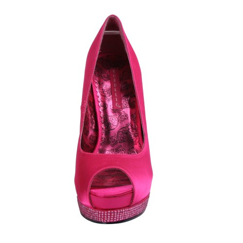 Bordello BELLA-12R H. Pink Satin UK 5 (EU 38) zVS8AfH35N