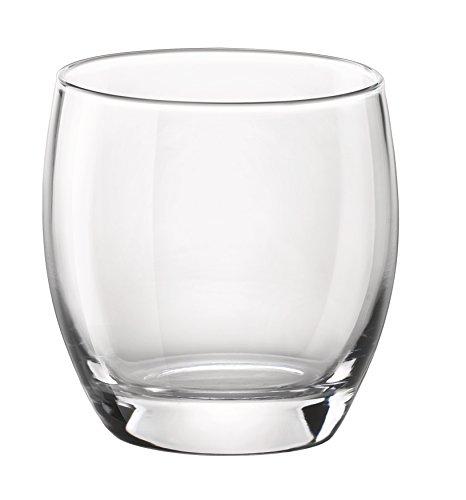Bormioli Rocco Essenza Double Old Fashioned Glass, Set of 4 , Clear