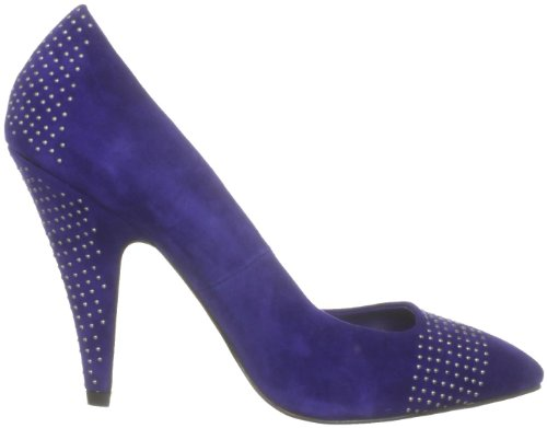 Carvela - Zapatos de ante para mujer Azul