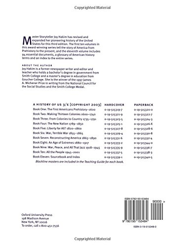 Amazon A History Of Us Assesment Books 1 10 Assessment Book