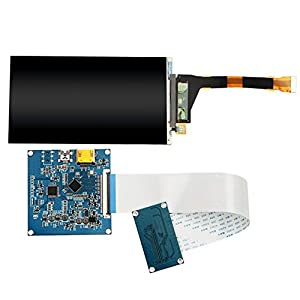 ETbotu LS055R1SX04 5.5 inch 2560x1440 2K LCD Screen HDMI to MIPI Driver Controller for 3D SLA Printer from ETbotu