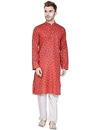 Indian Kurta Pajama Traditional Long Sleeve Cotton Shirt Dress Clothing