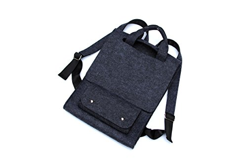 Designer Lightweight Laptop/Mac/Ipad pro Backpack for School, College & Business Up to 15.6-Inch Computer - Backpack for Lightweight Travel Dark gray(01MBP001)