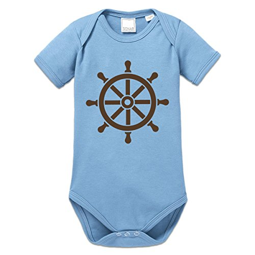 56 Steering (Shirtcity Steering Wheel Baby One Piece 56 Blue)