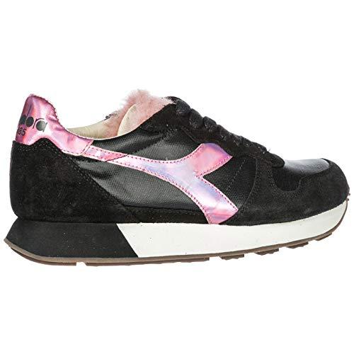 Chaussures Heritage En Noir Daim H Camaro Sneakers Baskets Black Femme Diadora aFwnq5dq