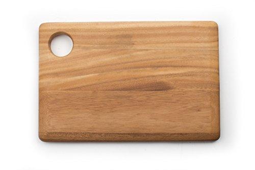 - Ironwood Gourmet 28197 Rectangular Everyday Cutting Board, Acacia Wood