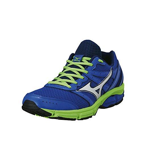 Mizuno Scarpa Running Sneaker Uomo Wave Impetus 2 Blu Verde