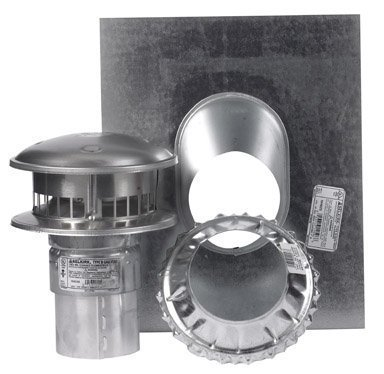 Gas Termination Kit (SELKIRK CORP 184600 Gas Termination Kit, 4-Inch by Selkirk)