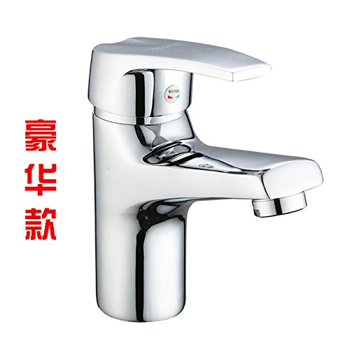 The Deluxe) With Hose Gyps Faucet Basin Mixer Tap Waterfall Faucet Antique Bathroom Mixer Bar Mixer Shower Set Tap antique bathroom faucet The copper basin faucet basin mixer hot and cold lowered basin basin mixer taps wit