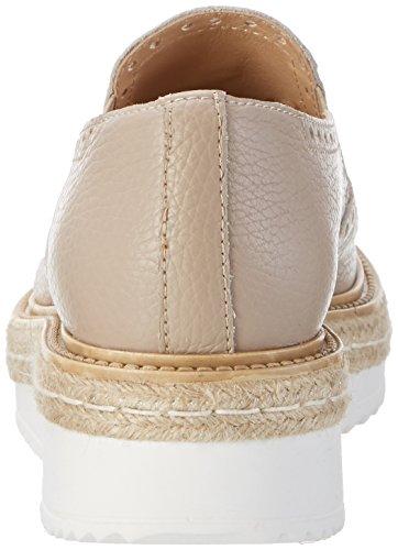Cordones Titanio Titanio para Derby Beige de Zapatos Peperosa 402 Mujer qzpRw8t1S