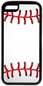 Baseball Pattern Theme Iphone 5C Case by lolosakes