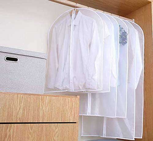 N&F Suit dust Cover Household Waterproof Transparent Coat Suit Cover Storage Clothes