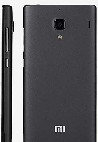huge selection of 59aeb 225e5 PS FORTUNET Housing Panel Back Door Battery Cover Replacement for Xiaomi  Redmi 1S(Black)