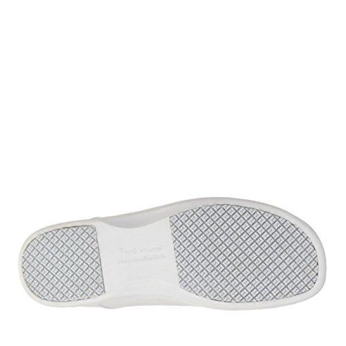 Grip Black White Women's Shoe Genuine Slip On qwaZAPxqTd