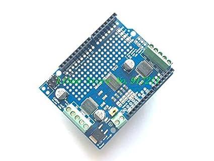 Motor//Stepper//Servo//Robot Shield V2 I2C Kit w// PWM Driver Shield