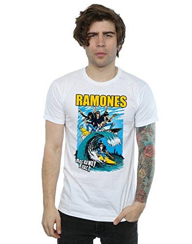 Générique shirt Blanc Rockaway Ramones Homme Beach T vCwvzq0