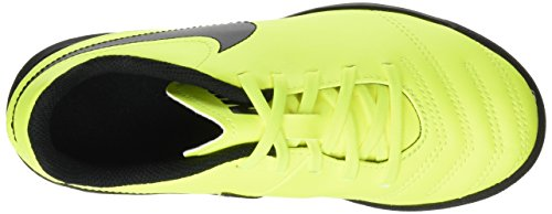 Nike Unisex-Kinder Tiempox Rio III TF Fußballschuhe Gelb (Volt/Black-Volt)