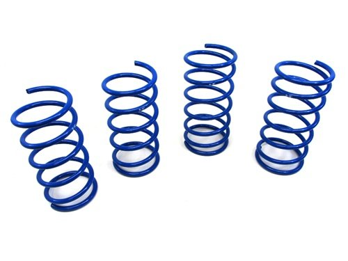 3 M2 Performance Lowering Coil Springs Blue 04 05 06 ()