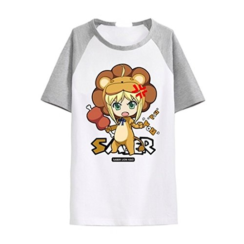 animetown-fate-zero-cute-lion-saber-altria-pendragon-costume-anime-tee-t-shirt-xxl-grey-and-white