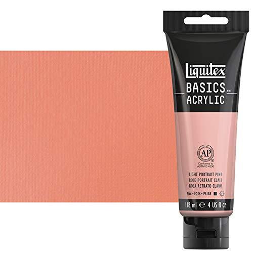 Liquitex BASICS Acrylic Paint, 4-oz tube, Light Portrait -