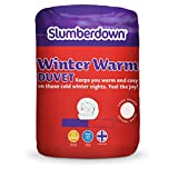 Slumberdown 15 Tog Duvet, White, Single