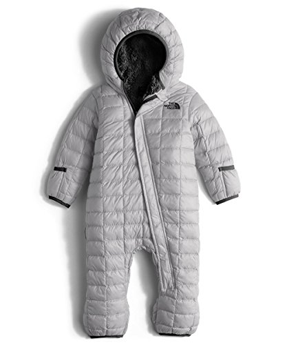The North Face Thermoball Bunting Infants (3-6 Months, Metallic Silver) by The North Face