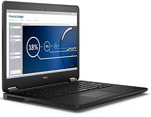 Dell Latitude E7450 14in HD High Performance Ultra Book Business Laptop NoteBook (Intel Dual Core i5 5300U, 8GB Ram, 256GB Solid State SSD, Camera, HDMI, WIFI) Win 10 Pro (Renewed)