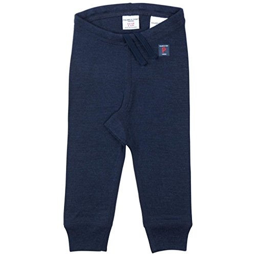 Polarn O. Pyret Merino Wool Long Johns (Newborn) - Dark Sapphire/2-6 (Merino Long Johns)