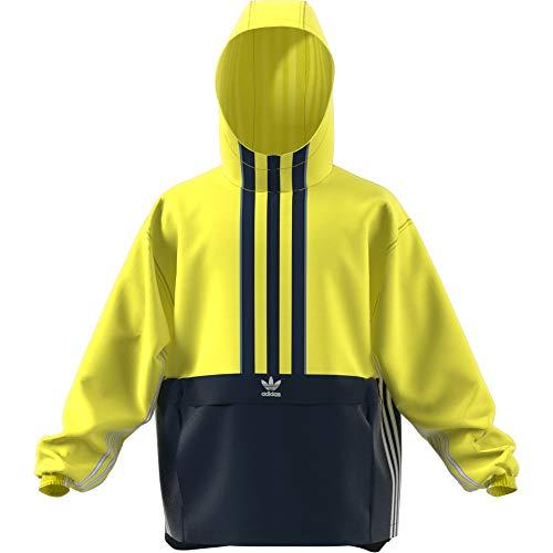 Anorak Shock collegiate Giacca Navy Uomo Auth Adidas Yellow 8URgqg