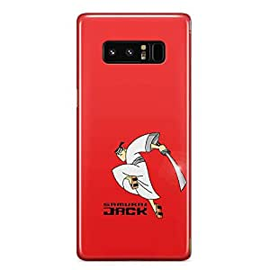 Loud Universe Samurai Jack Samsung Note 8 Case Action Samurai Red Samsung Note 8 Cover with 3d Wrap around Edges
