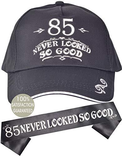 85 Never Looked So Good Birthday Hat & Sash