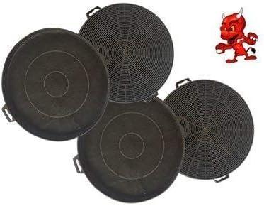 Mega set de 4 filtros de carbón activo filtro Filtro de carbón para campana Campana Balay 3bd771bp01, 3bd771np01, 3bd771 X P01: Amazon.es: Iluminación