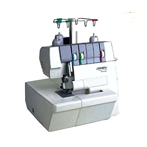 (Ship from USA) Consew 14TU858 3-Thread 2-Needle Portable ''Coverlock'' Coverstitch Machine *PLKHG484UY1299 by Usongs Trading INC