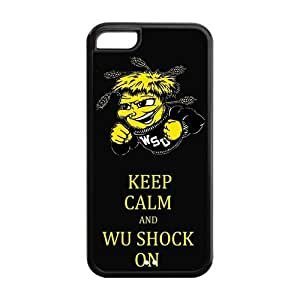 meilz aiaiCustomize NCAA Basketball Team Wichita State Shockers Back Cover Case for iphone 5Cmeilz aiai
