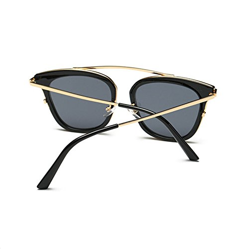 Aoligei Carré des lunettes de soleil lunettes de soleil et de la version coréenne de femmes de la mode européenne et américaine de lunettes de soleil centaines A