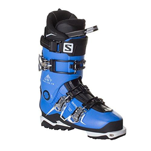 Salomon QST Pro 130 Ski Boot - Men's Indigo Blue/Black/White, - Ski Boot 130 Pro