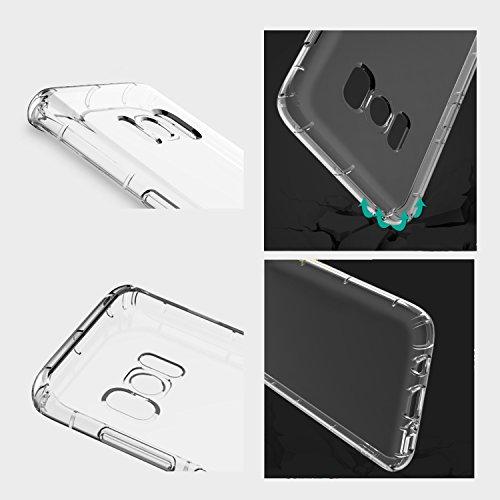 Samsung Galaxy S8 Plus Hülle, Acelive Transparent TPU Silikon Handyhülle Schutzhülle Case für Samsung Galaxy S8 Plus
