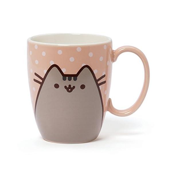 GUND-Pusheen-The-Cat-Pastel-Stoneware-Mug