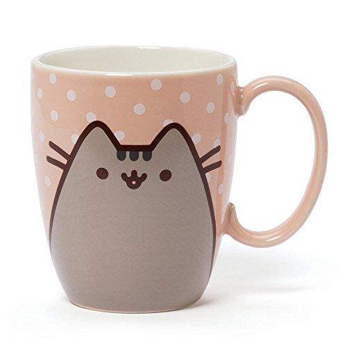 Enesco Pusheen by Our Name is Mud Polkadot Coffee Mug, 12 oz.