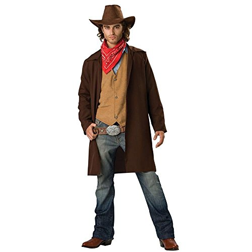 Rawhide Renegade Costume - Medium - Chest Size 38-40 (Male Costume Halloween)