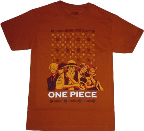 One Piece: Straw Hat Pirates Group T-Shirt, Adult X-Large