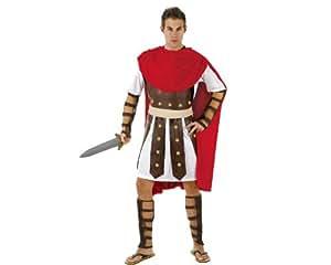 Atosa - Disfraz de gladiador romano para hombre, talla L (M/L) (98907)