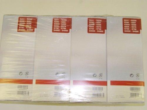 Miele Fjm 16 original Air Clean Filters, 4 motor protection filters, 4 air clean filters, Pack of 4
