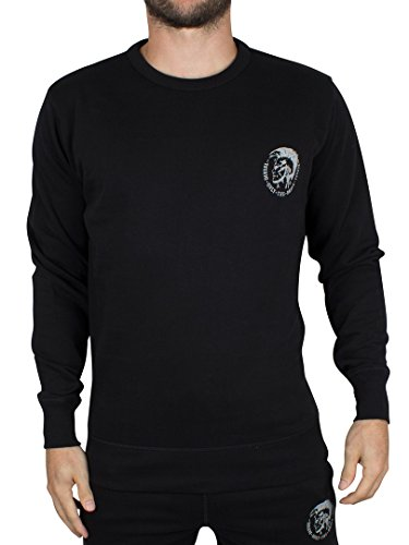 diesel-mens-willy-mohican-lounge-crew-sweat-shirt-black-x-large