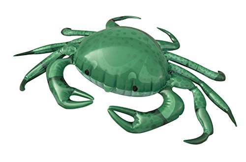 Jet Creations Inflatable Crab Animals,20 inch  – Great for Pool, Party Decoration, Birthday