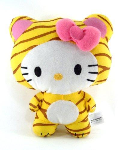 Sanrio  Hello Kitty 10 Circus Animal Plush  Hello Kitty Dress as a Tiger by SANRIO