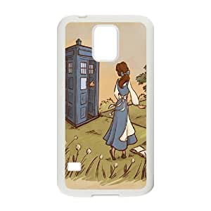 Steve-Brady Phone case TV Show Doctor Who And Police Box For Samsung Galaxy S5 Pattern-15