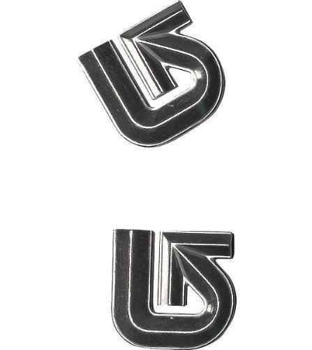 Burton Aluminum Logo Mats Silver ()