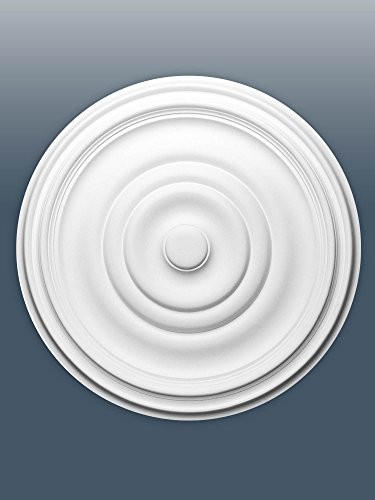 ORAC R09 Ceiling Rose Rosette Medallion Centre quality polyurethane classic style decor white | 48 cm = 18 inch diameter by Orac Décor